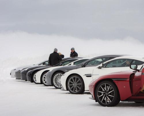 Aston Martin On Ice New Zealand Zagame Automotive