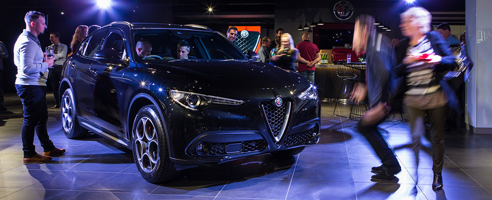 The All- New Alfa Romeo Stelvio Launch