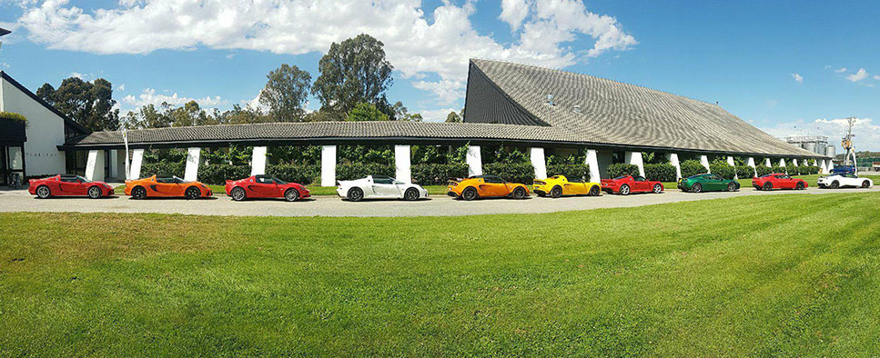 Lotus Melbourne Drive & Dine to Mitchelton Winery