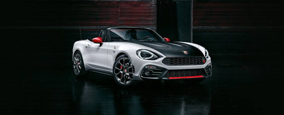 The Abarth 124 Spider