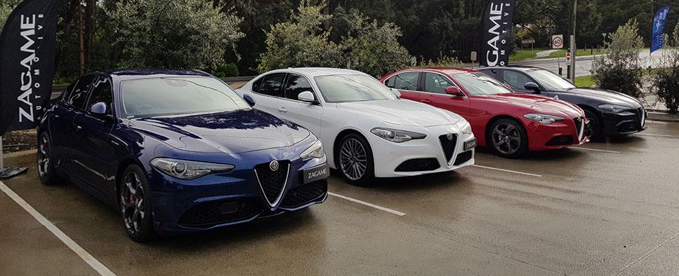 Zagame Alfa Romeo Giulia Drive Experience - Zagame Automotive