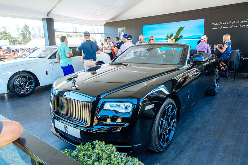 rolls royce vehicle display at the 2018 australian formula 1 grand prix. Black Bedroom Furniture Sets. Home Design Ideas