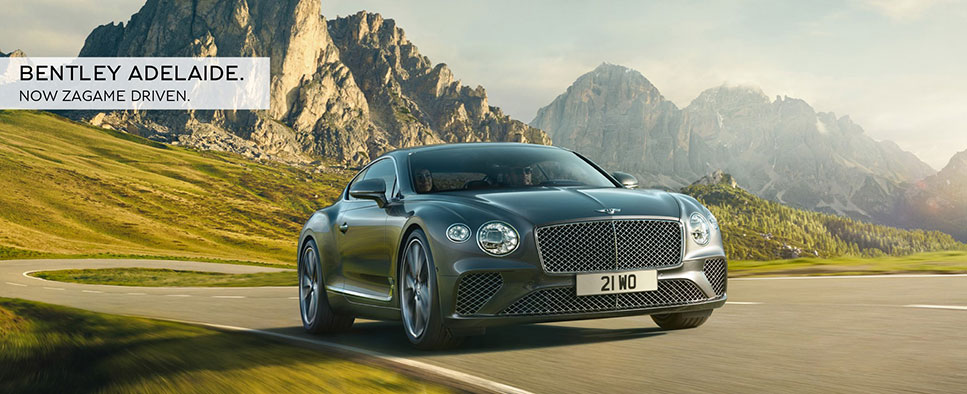 Bentley Adelaide. Now Zagame Driven.