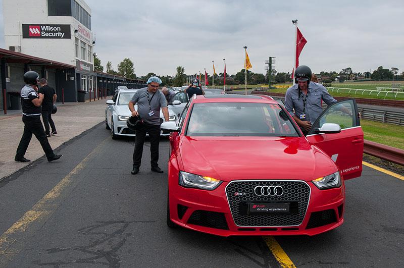 Audi drive day