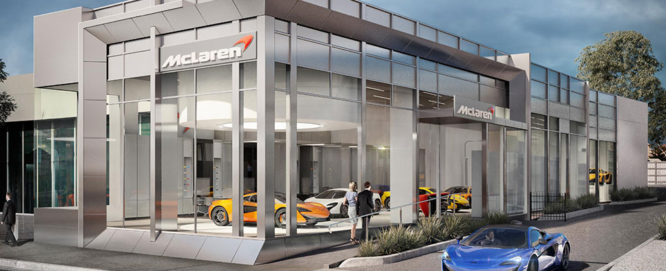 Mclaren Is Moving To Swan Street Zagame Automotive